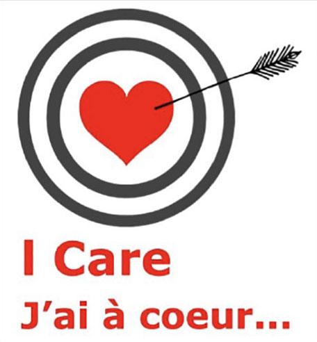 I Care / J'ai à coeur logo